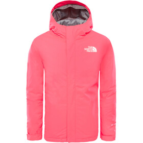 The North Face Snow Quest Jacket Youth Rocket Red